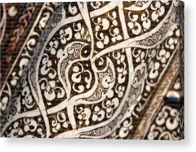 Patterns Acrylic Print featuring the photograph Pergamon Islamic Art 2 by Kate Pavlovich