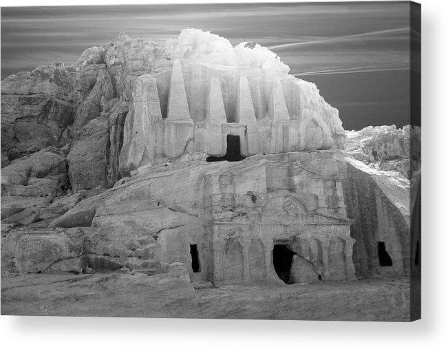 Petra Acrylic Print featuring the photograph Petra - Jordan by Munir Alawi