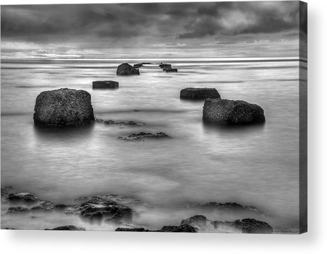 Landscape Acrylic Print featuring the photograph Phantom Pier by Ryan Wyckoff