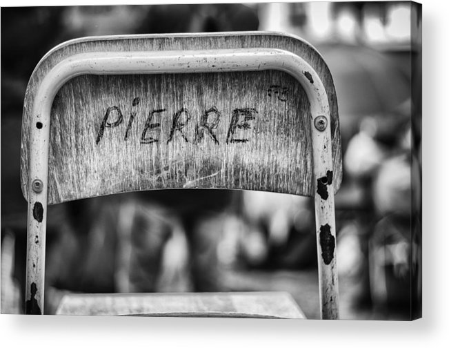 Pierre Acrylic Print featuring the photograph Pierre by Pablo Lopez
