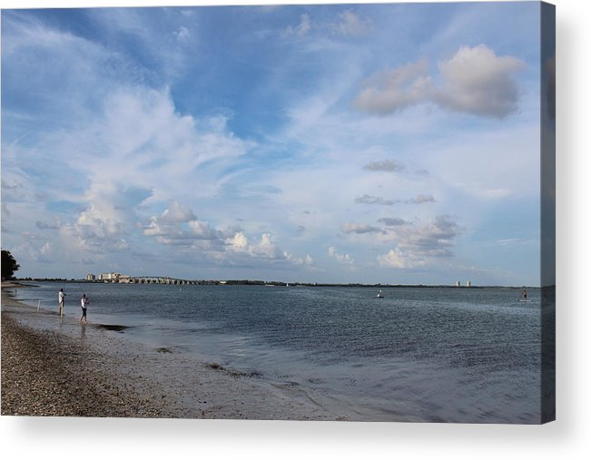 Landscape Acrylic Print featuring the photograph Pine Island Sound by David Zuhusky