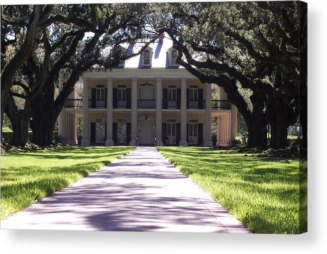 Plantation Acrylic Print featuring the photograph Plantation by Michelle Williams