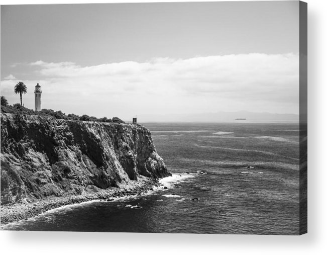 Point Vicente Lighthouse Acrylic Print featuring the photograph Point Vicente Lighthouse by Ralf Kaiser