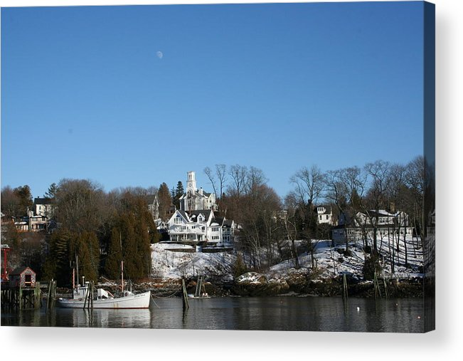 Landscape Acrylic Print featuring the photograph Quiet Harbor by Doug Mills