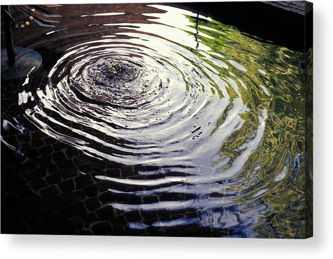 Rain Acrylic Print featuring the photograph Rain Barrel by Carl Purcell