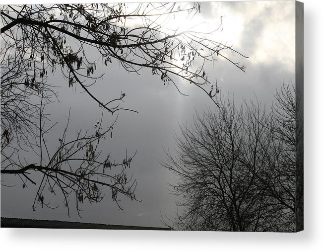 Clouds Acrylic Print featuring the photograph Ray Of Hope IIi by Janey Loree