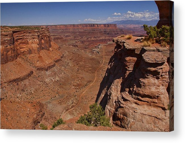 Canyonlands Acrylic Print featuring the photograph Red Rock Vista by Nick Roberts