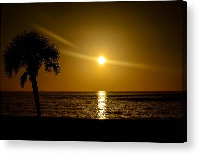 Sunsets Acrylic Print featuring the photograph Reflect The Sun by Amanda Liner