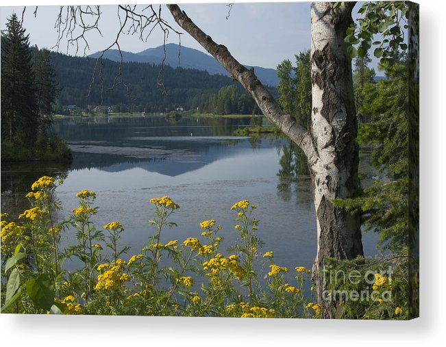 Landscape Acrylic Print featuring the photograph Reflections Of Summer by Idaho Scenic Images Linda Lantzy