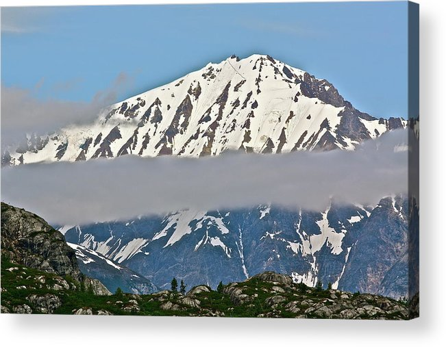 Cloud Acrylic Print featuring the photograph Ribbon Of Fog by Diana Hatcher