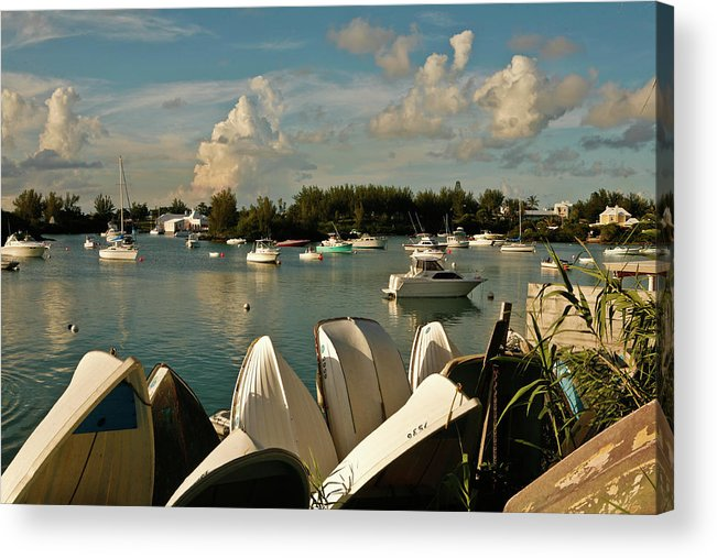 Bermuda Acrylic Print featuring the photograph Riddles Bay by Lori Goodwin