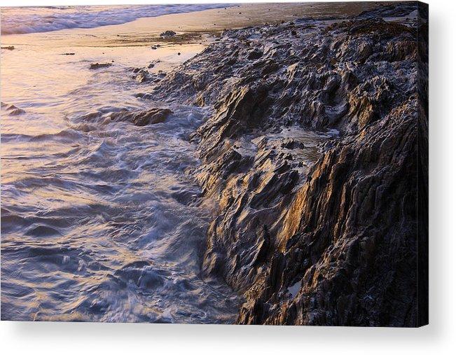 Beach Acrylic Print featuring the photograph Rock by Viktor Savchenko