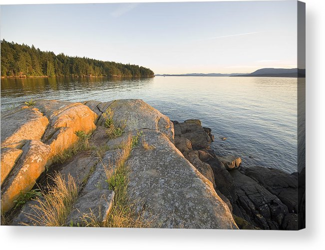 Gulf Islands Acrylic Print featuring the photograph Roesland - North Pender Island by Kevin Oke