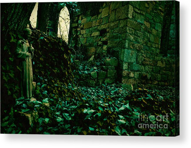 Ruins Acrylic Print featuring the photograph Saint Johns Chapel Seven by Susan Isakson