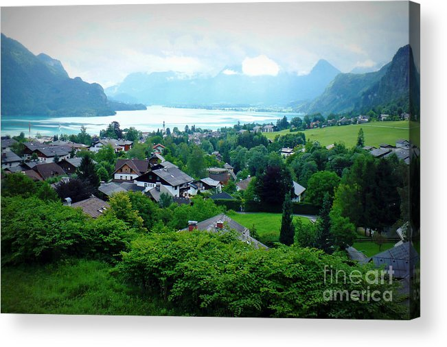 Austria Acrylic Print featuring the photograph Salzburg Lake District by Carol Groenen