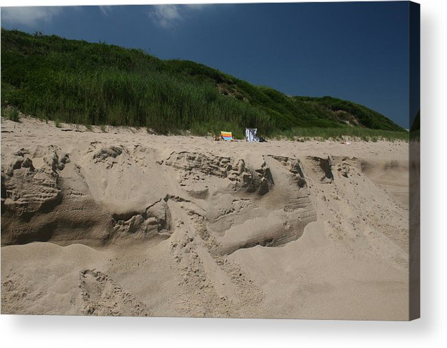 Beach Acrylic Print featuring the photograph Sand Dunes II by Jeff Porter