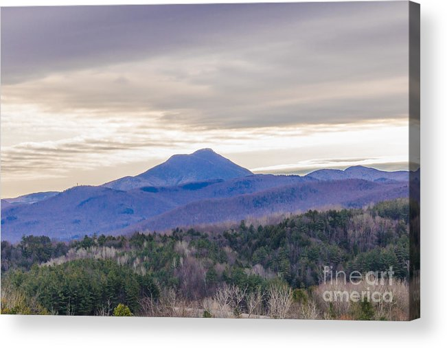 Mountains Acrylic Print featuring the photograph Scenic Vermont 1 by Claudia M Photography