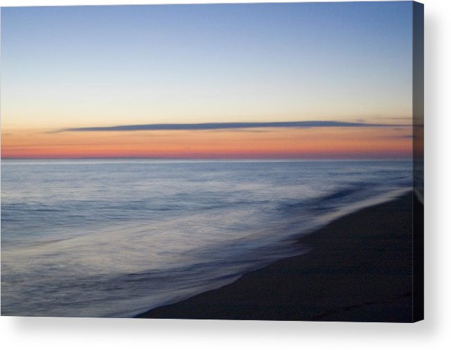Nantucket Acrylic Print featuring the photograph Sciasconset Morning Nantucket by Henry Krauzyk