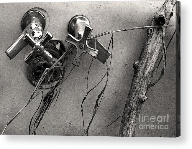 Scotopic Acrylic Print featuring the photograph Scotopic Vision 8 - Tub by Pete Hellmann
