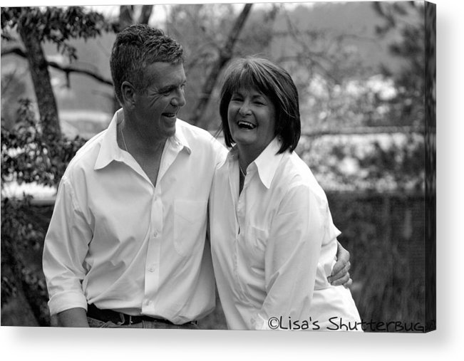 Acrylic Print featuring the photograph Scott And Sandi 3 by Lisa Johnston
