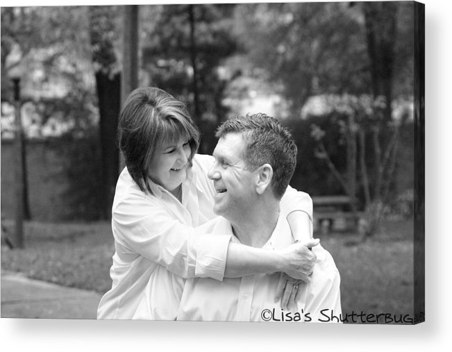 Acrylic Print featuring the photograph Scott And Sandi by Lisa Johnston
