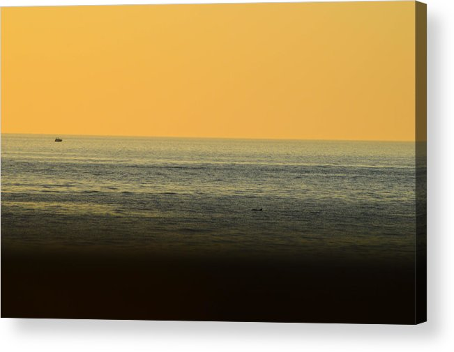 Beach Acrylic Print featuring the photograph Sea For Days by Amanda Liner