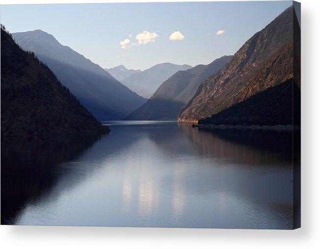 Seton Acrylic Print featuring the photograph Seton Lake Reflection by Pierre Leclerc Photography