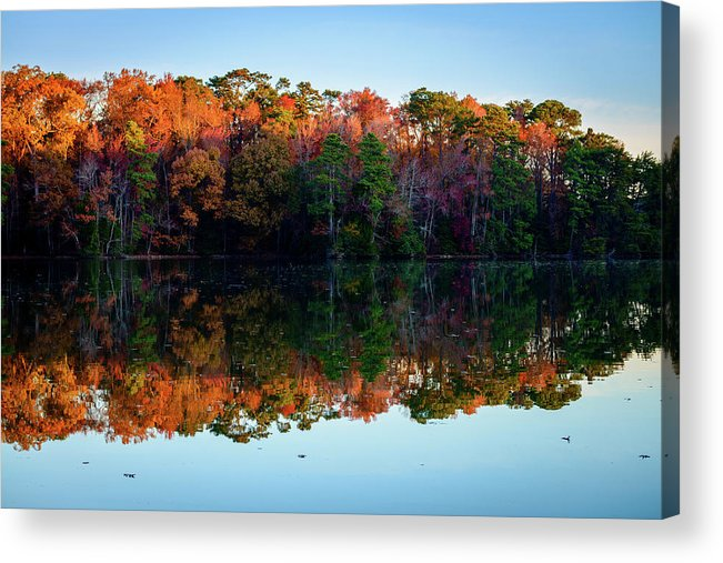 Curtis Acrylic Print featuring the photograph Shadows Of Reflection by Michael Scott