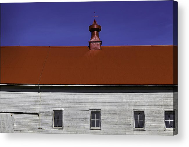 Shaker Acrylic Print featuring the photograph Shaker Building by Garry Gay