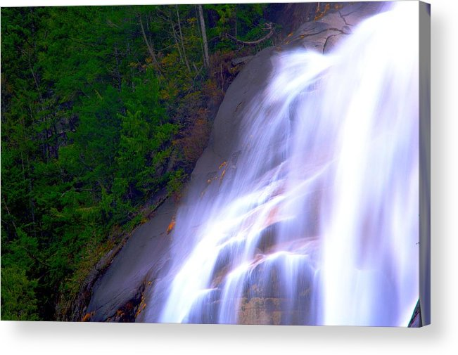 Waterfall Acrylic Print featuring the photograph Shannon Falls by Paul Kloschinsky