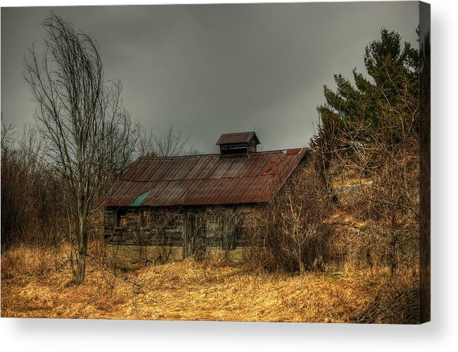 Rcouper Acrylic Print featuring the photograph Shed33 by Rick Couper