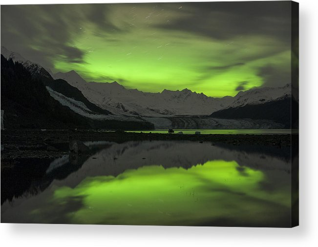 Aurora Acrylic Print featuring the photograph Simply Glowing by Ted Raynor