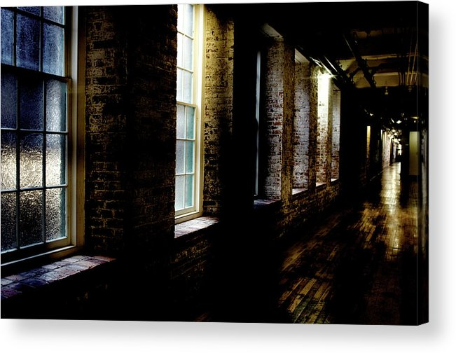enterprise Mill Acrylic Print featuring the photograph Slit Scan 5 by Patrick Biestman