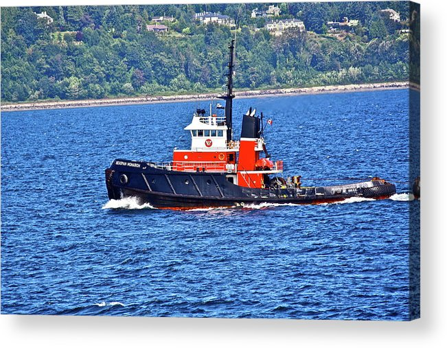 Boat Acrylic Print featuring the photograph Small But Strong by Diana Hatcher