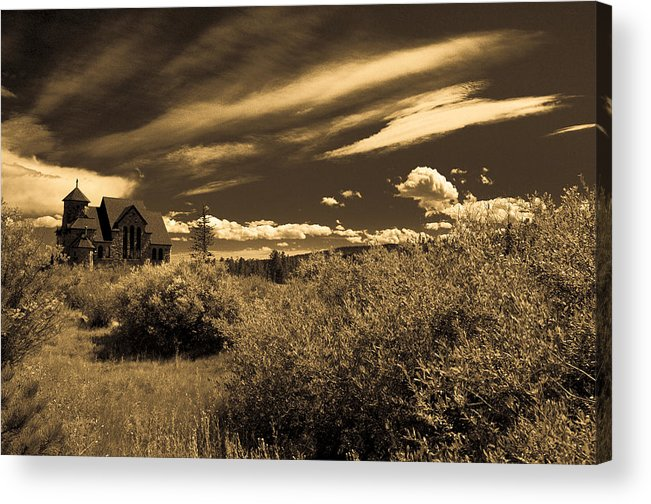 Church Acrylic Print featuring the photograph Small Town Church by Marilyn Hunt