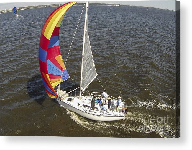 Sole Vento Acrylic Print featuring the photograph Sole Vento Charleston South Carolina by Dustin K Ryan