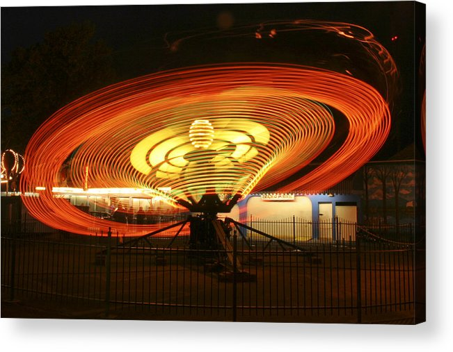 Spinner Acrylic Print featuring the photograph Spinner by Wes and Dotty Weber