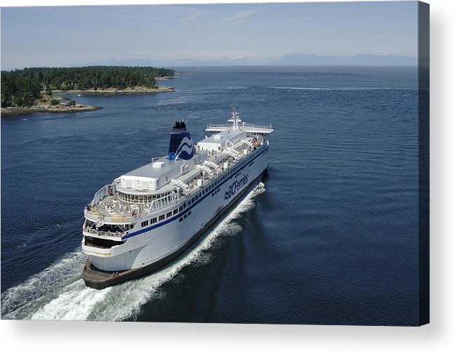 Gulf Islands Acrylic Print featuring the photograph Spirit Of British Columbia by Kevin Oke