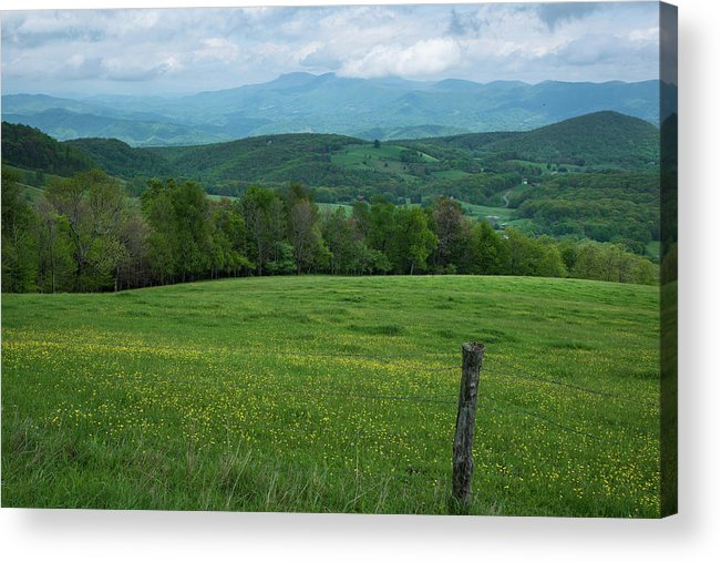 Acrylic Print featuring the photograph Spring At Daughter's View by Sallie Woodring