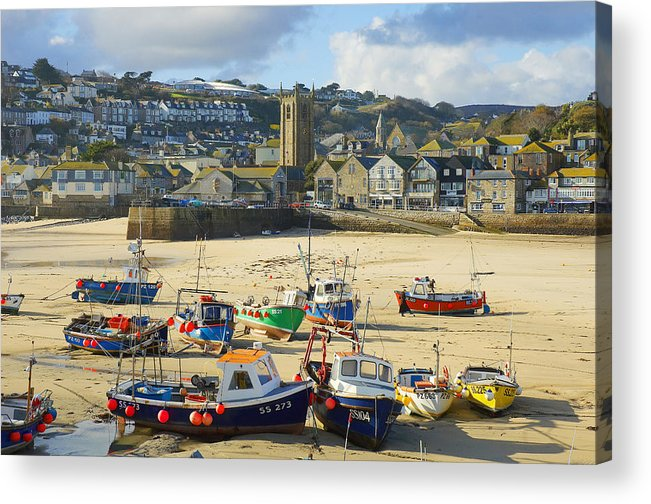St Ives Acrylic Print featuring the photograph St Ives by Elisa Locci