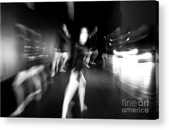 Moden Dance Acrylic Print featuring the photograph Stage Zoom - 1 by Scott Sawyer