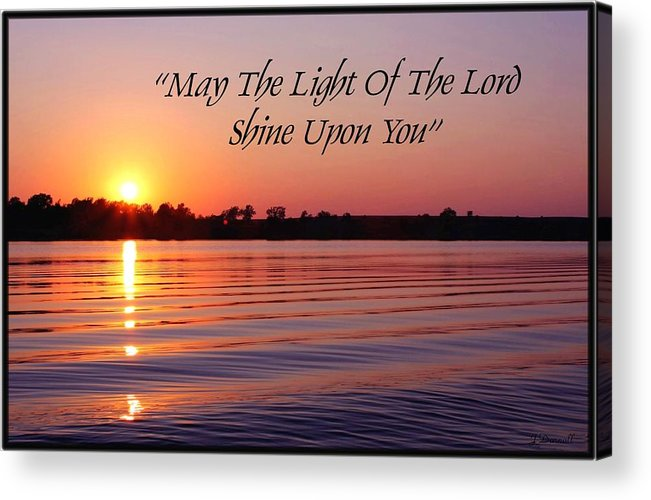 Sunset Acrylic Print featuring the photograph State Lake Sunset by Jim Darnall