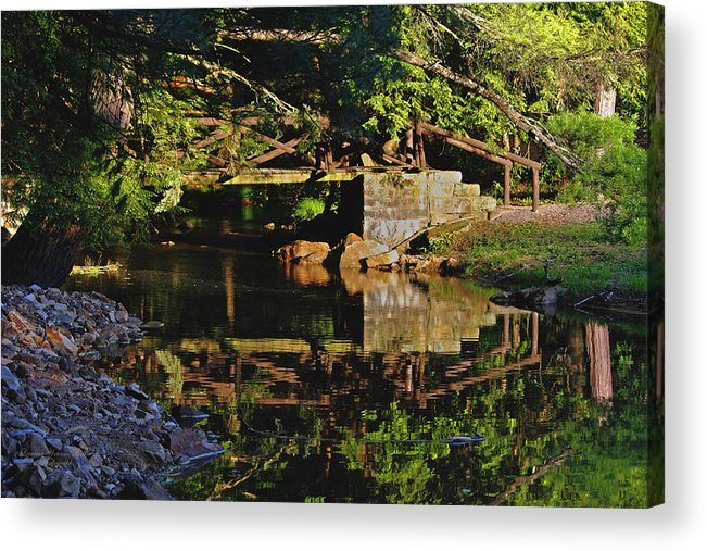 Reflections Acrylic Print featuring the photograph Still Water Reflections by Darlene Bell