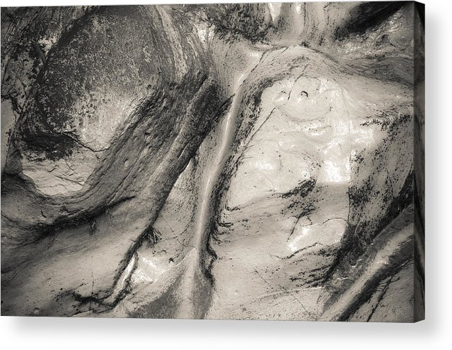 Stone Acrylic Print featuring the photograph Stonescape No 4 by Henry Krauzyk