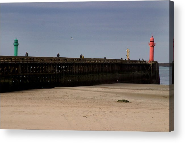 Jez C Self Acrylic Print featuring the photograph Stop Go by Jez C Self