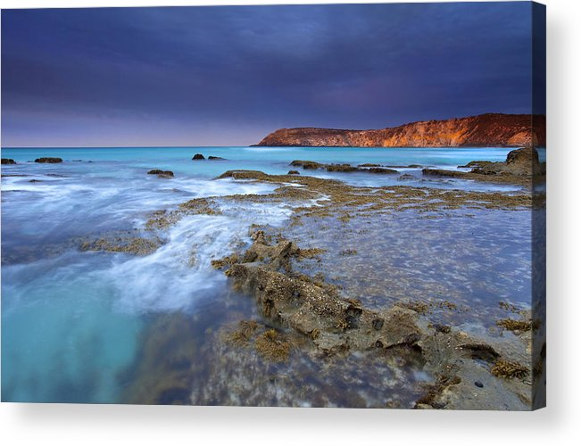 Dawn Acrylic Print featuring the photograph Storm Light by Mike Dawson