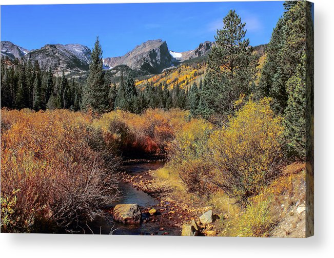 Landscape Acrylic Print featuring the photograph Storm Pass Trail by Perspective Imagery