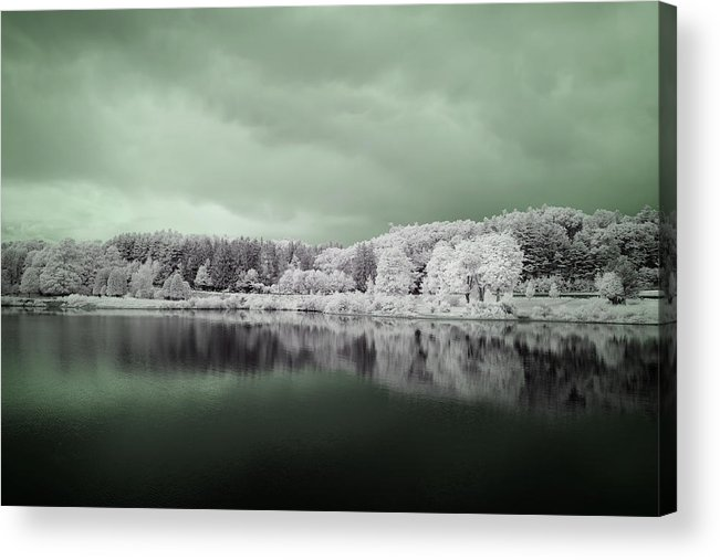 Wachusett Reservoir Acrylic Print featuring the photograph Stormy Friday by Luke Moore
