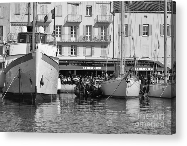 Summer Acrylic Print featuring the photograph Summer Feelings Saint - Tropez by Tom Vandenhende