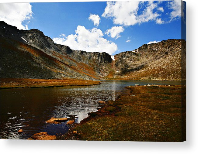 Travel Acrylic Print featuring the photograph Summit Lake Colorado by Marilyn Hunt